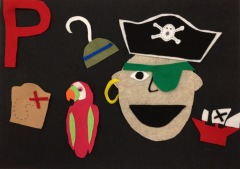 pirate felt board