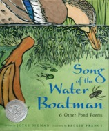 song for the water boatman