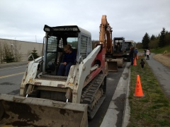 Heavy Equipment Show and Tell