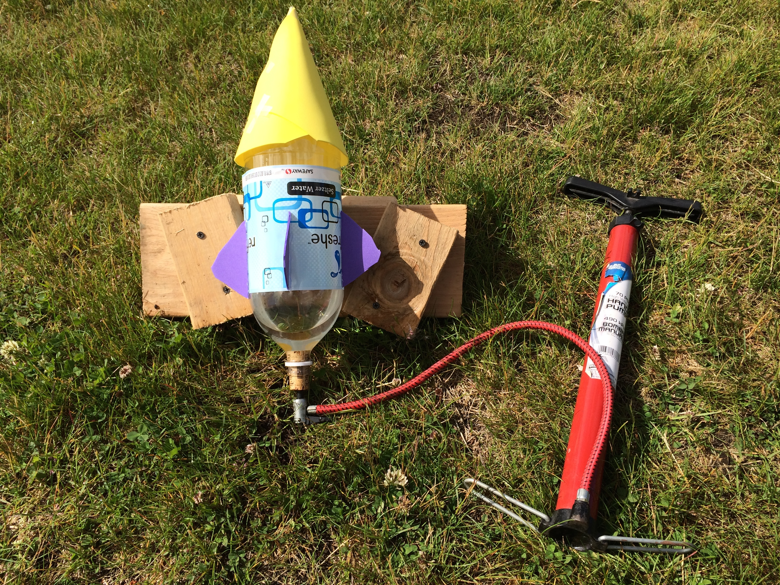bottle rocket project