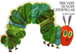 The Very Hungry Caterpillar Photo credit: www.en.wikipedia.org