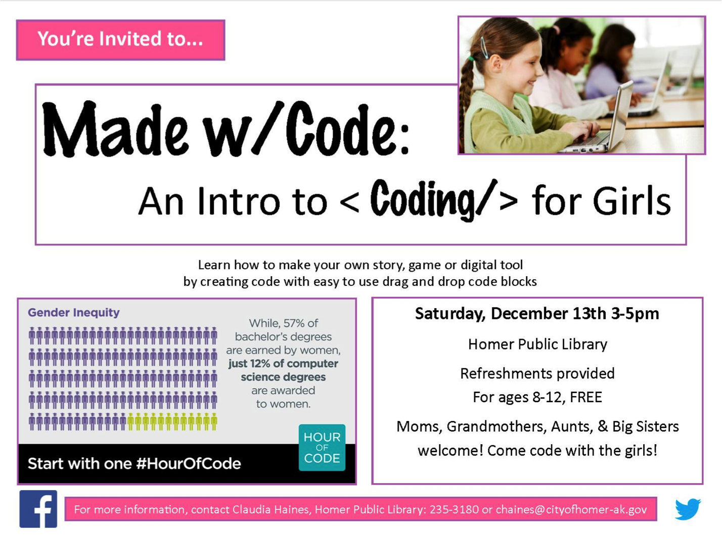 Intro to Coding for Girls