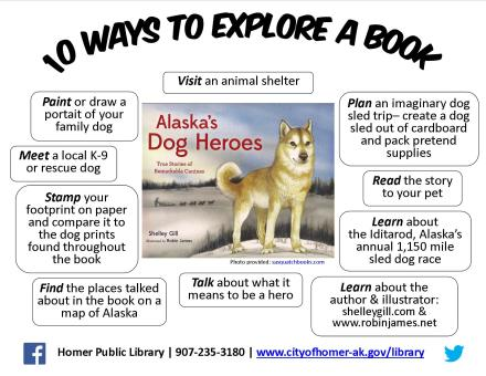 Explore Book: Alaska Dog Heroes