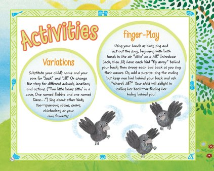 Two Little Blackbirds Activity Pages (Photo Source: Amazon.com)