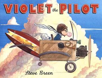 Violet the Pilot by Steve Breen (Photo source: Zoobean.com)