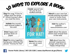 Explore Hat Book