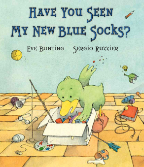 Have You Seen My New Blue Socks book image