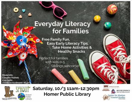 Early Literacy Fair flyer
