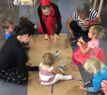 Collaborative Art at Storytime 2016